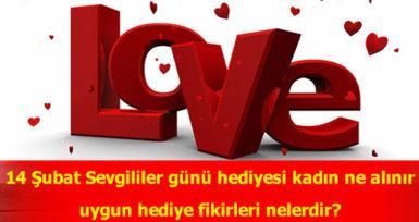 14 Şubat Romantik Sevgililer Günü Hediye Seçenekleri